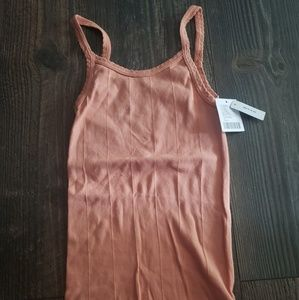 Urban outfitters pale pink/peach tank top